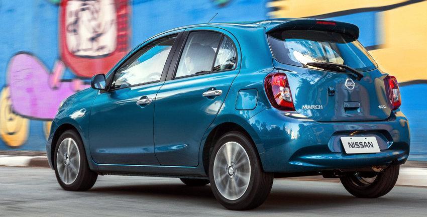 Novo Nissan March 2016 - Consumo e Ficha Técnica