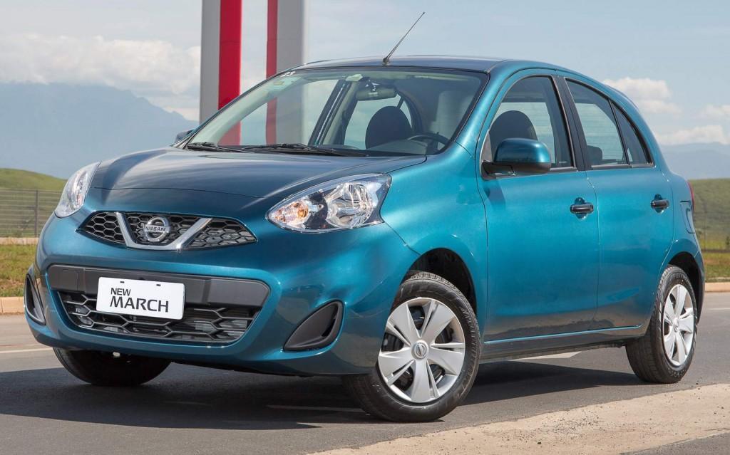 Novo Nissan March 2016 - Preço e Valor