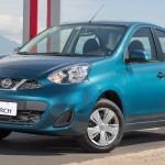 Nissan New March produzido no Brasil.