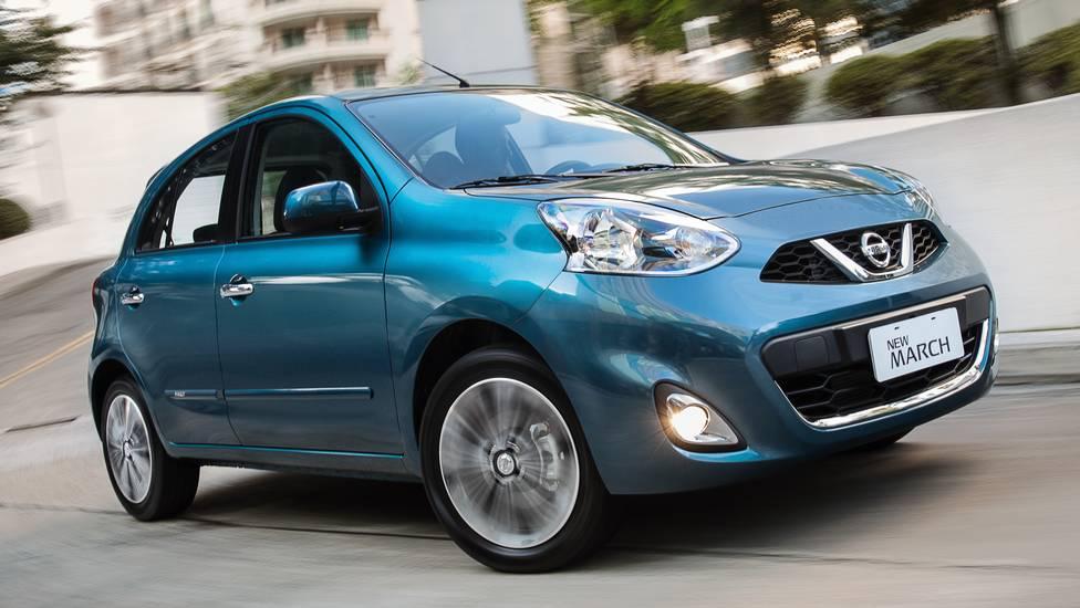 Novo Nissan March 2016 - lançamento e mudanças