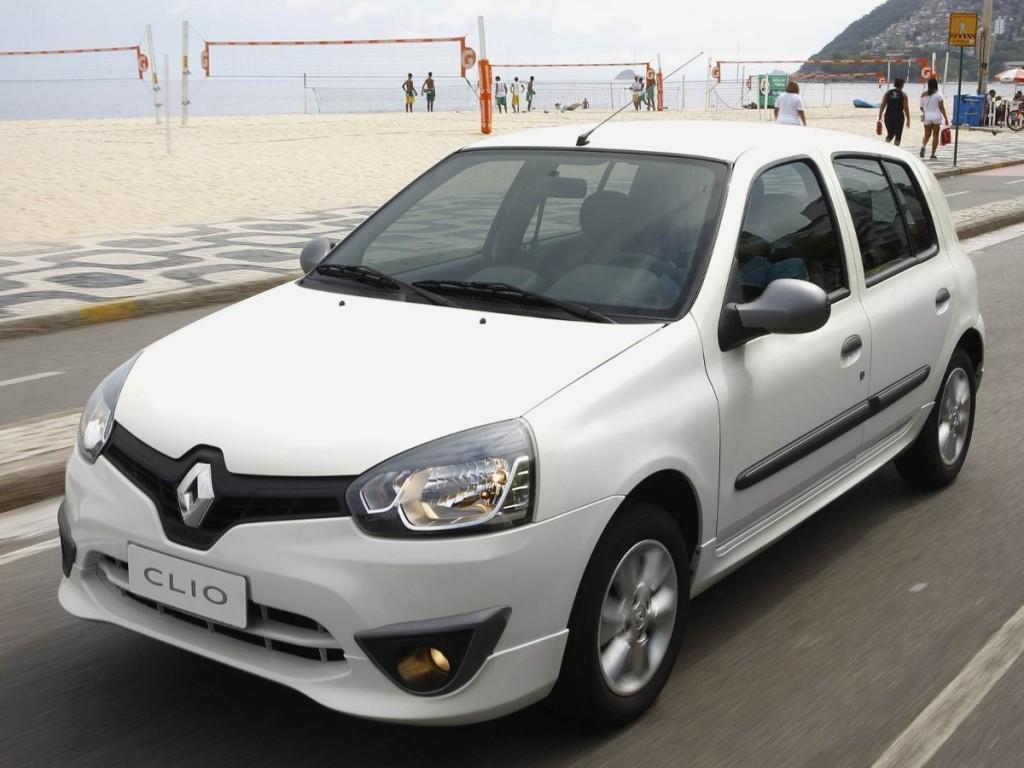 Novo Renault Clio 2016 - Ficha Técnica e Especificações