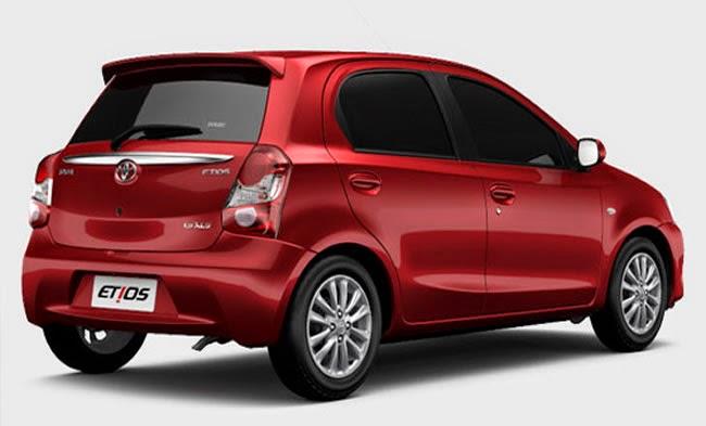 Novo Toyota Etios 2016 Porta Malas