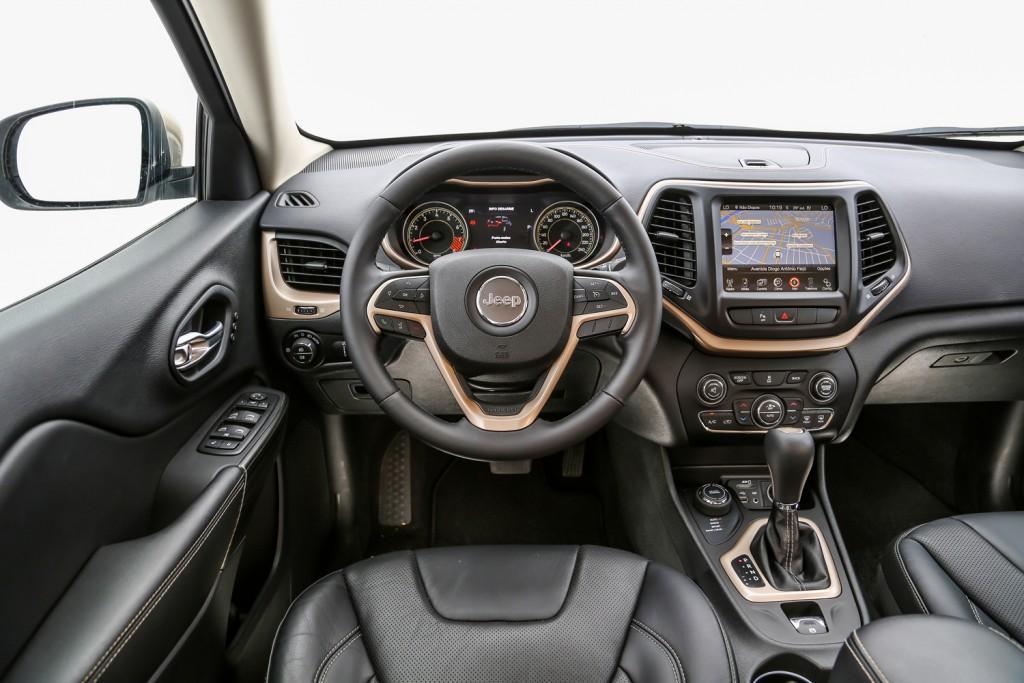 Novo Jeep Cherokee 2015 2016 - Interior