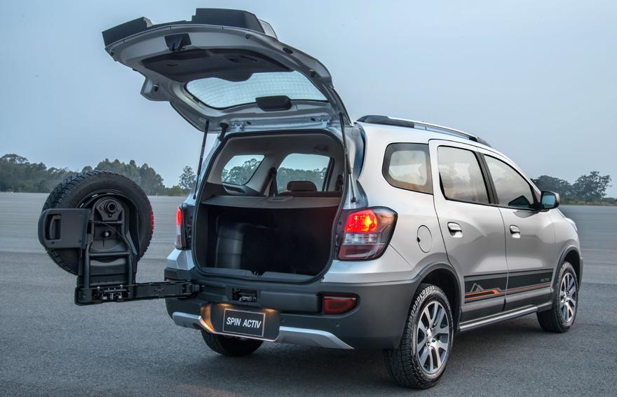Chevrolet Spin 2016 Consumo e Ficha Tecnica