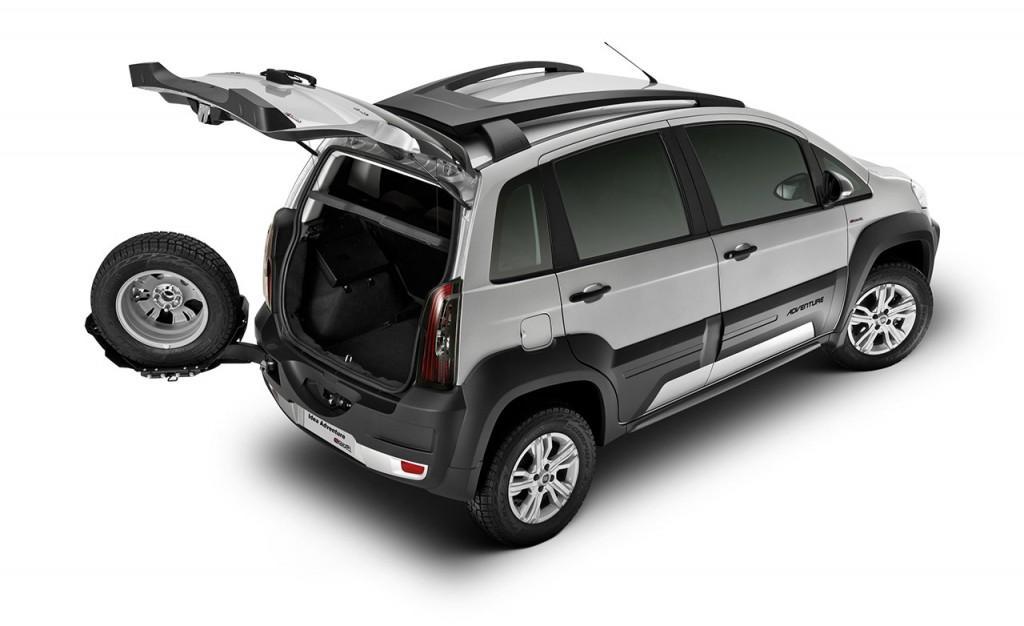 Novo Fiat Idea 2016 - Porta Malas