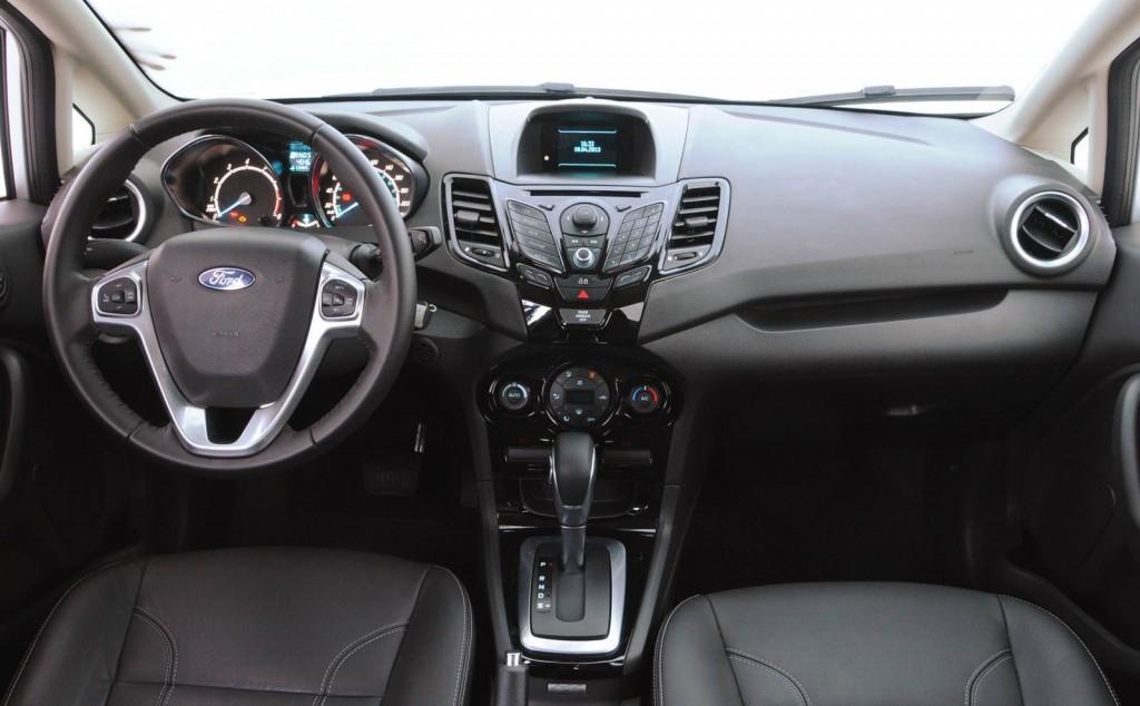 Novo Fiesta 2016 - Interior e Itens de Série
