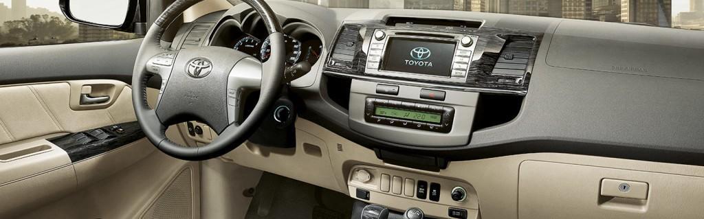 Nova Hilux SW4 2016 Toyota - Interior e Itens de Série