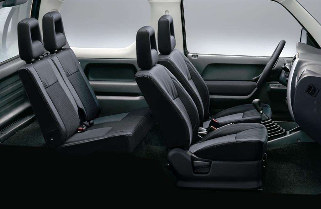 Novo Suzuki Jimny 2017 - por dentro