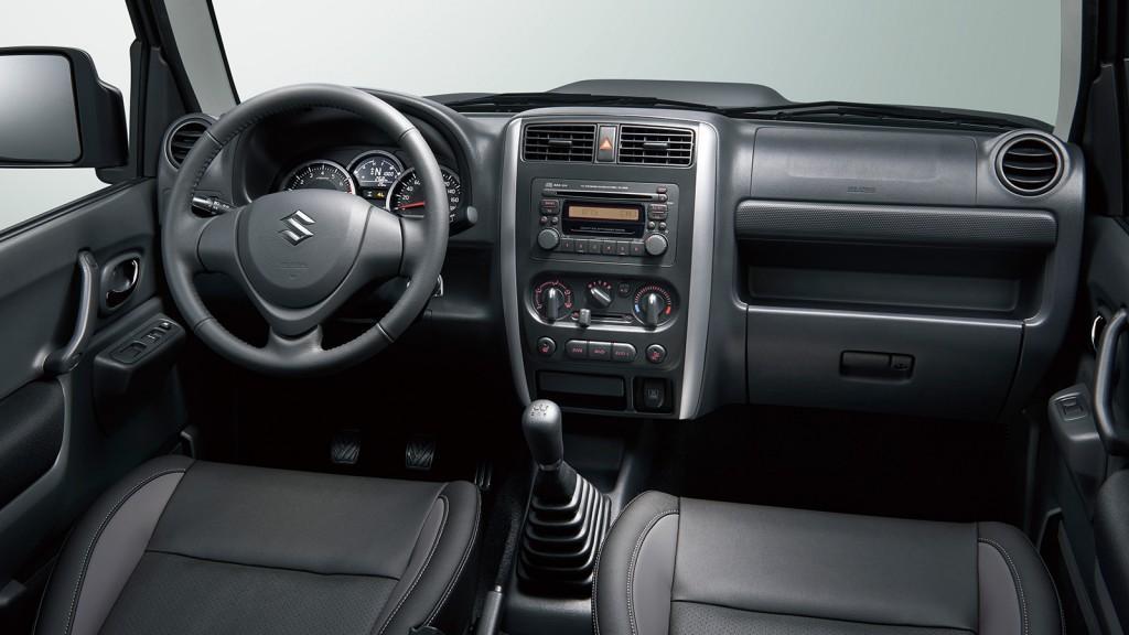 Suzuki Jimny 2015 2016 Interior