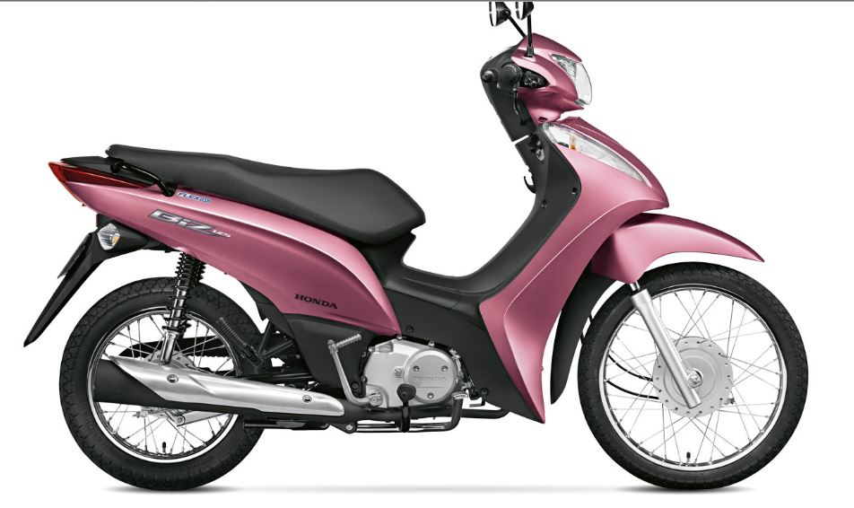 Nova Honda Biz 2016 - Consumo