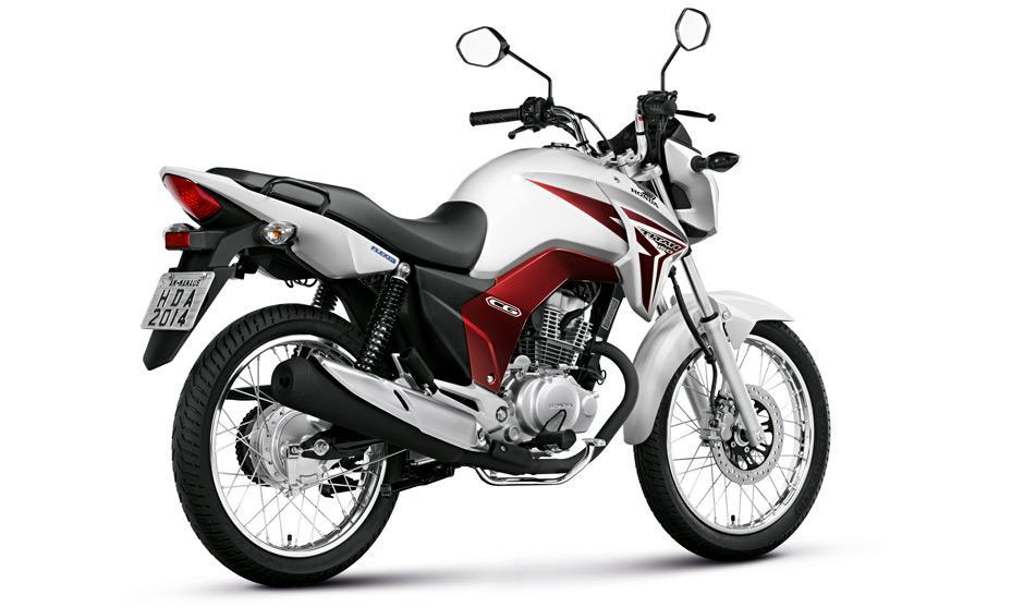 Novo Honda CG Titan 150 2016 - Preço, Consumo, Ficha Técnica