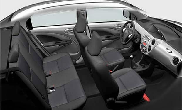 Novo Etios 2016 Sedan - Interior