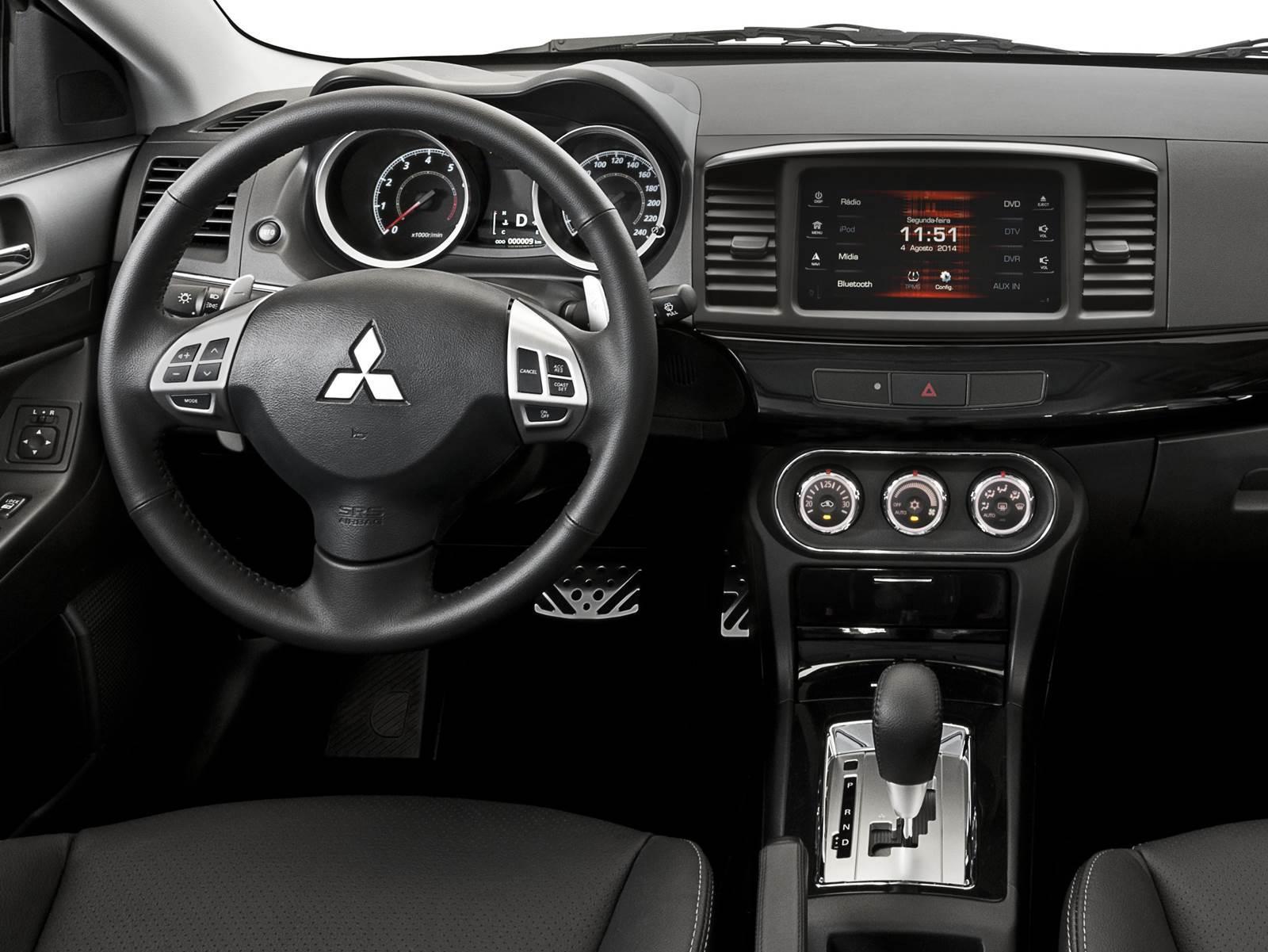 Novo Mitsubishi Lancer 2016 - Preço, Consumo, Avaliação
