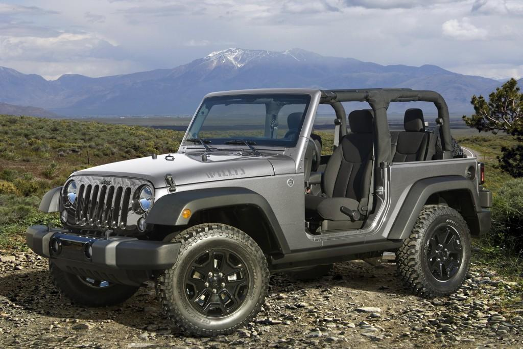 2015 Jeep® Wrangler Willys Wheeler Edition