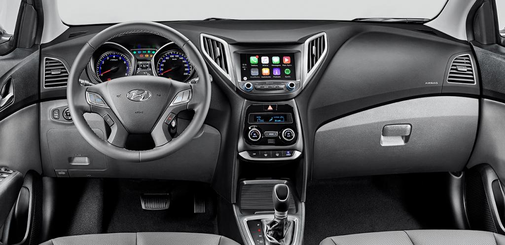 Novo Hb20s 2017 Sedan - por dentro