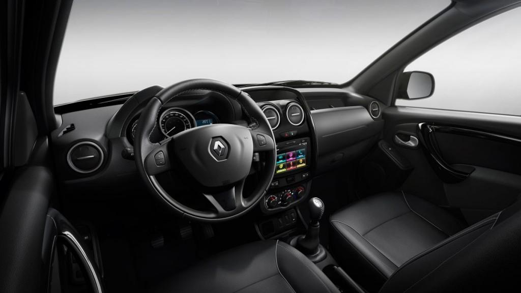 Renault Oroch Dynamique 2017 Painel