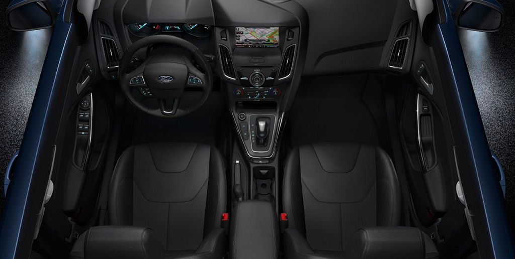 Novo Focus Hatch 2017 -  Interior