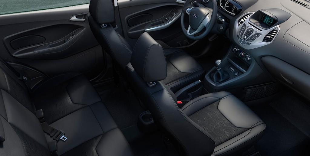 Novo Ford Ka 2017 - Itens de série