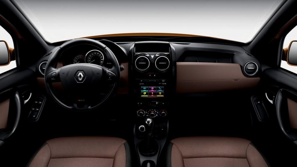 Nova duster 2017 pre o ficha t cnica consumo fotos - Dacia duster 2017 interior ...