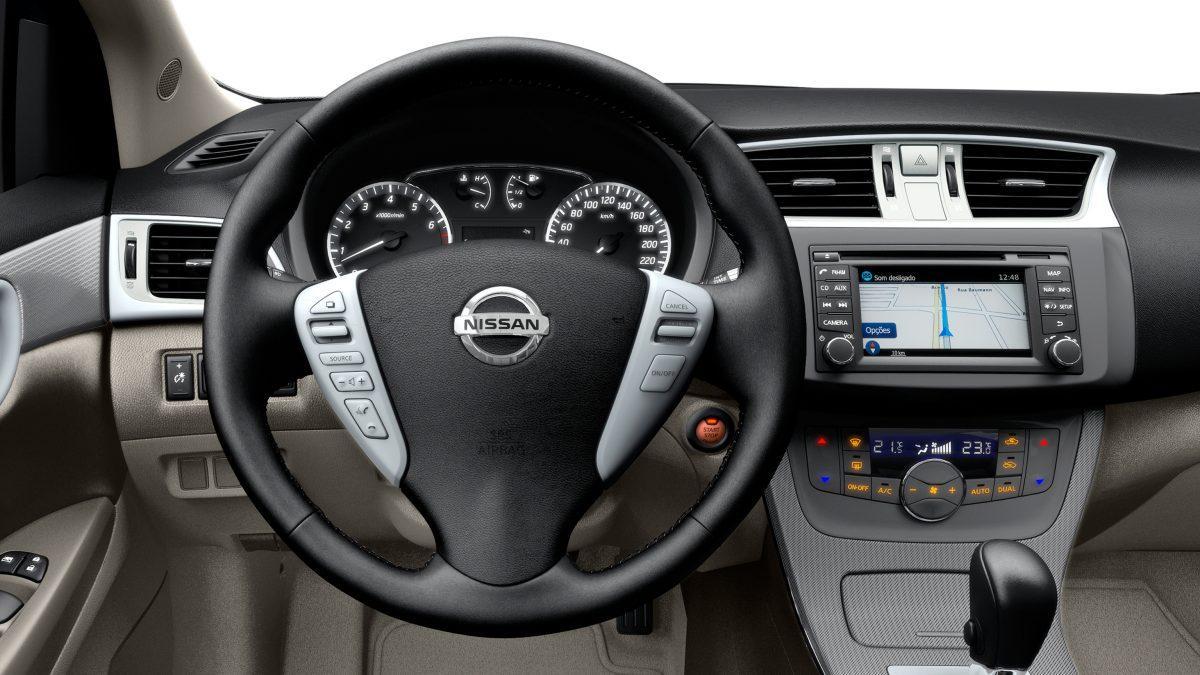 Nissan Sentra 2017 Automatico Valor Teto Solar Interior Fotos