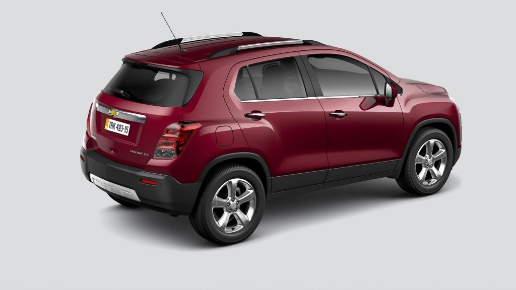 Chevrolet Tracker 2017 - Traseira
