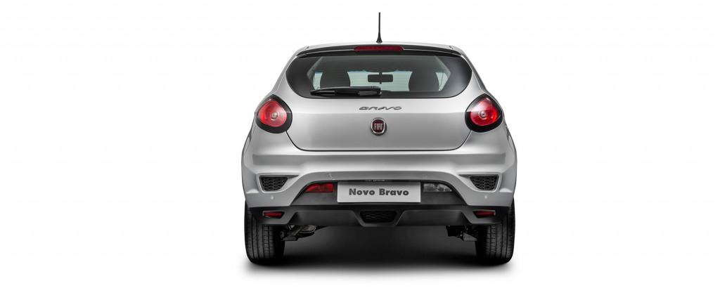 Novo Fiat Punto 2017 - traseira