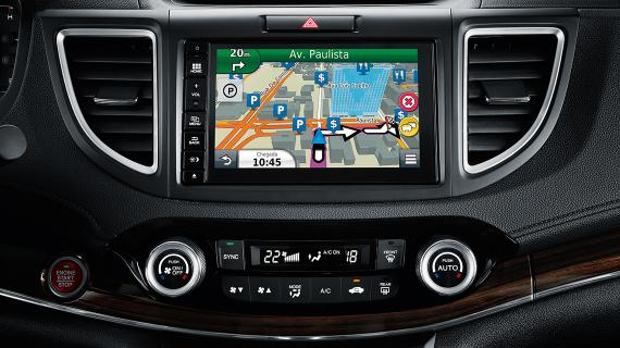 GPS do Honda CRV 2017