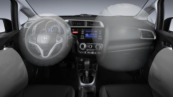 Honda Fit 2017 - interior