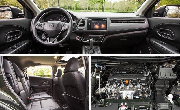 Honda HR-V EX 2017 - por dentro