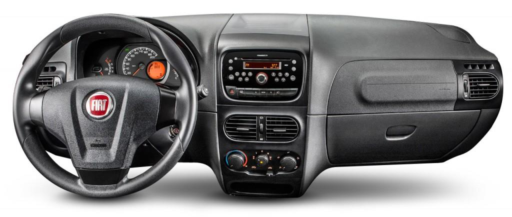 Fiat Siena 2017 - Painel