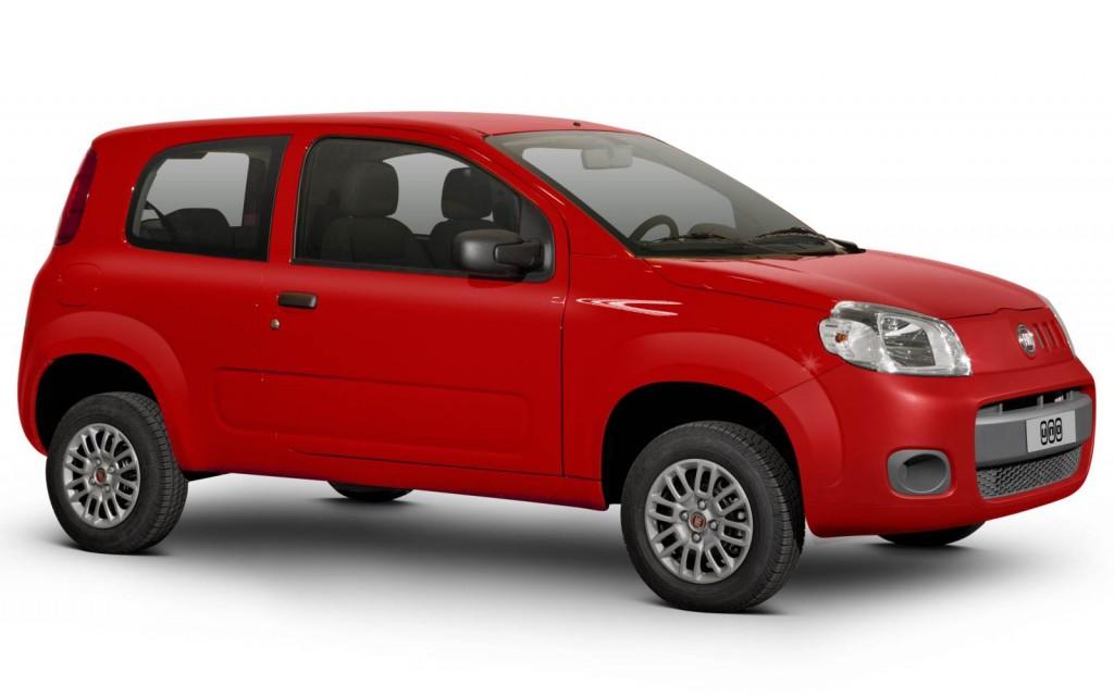 Novo Fiat Uno 2017 - ficha técnica