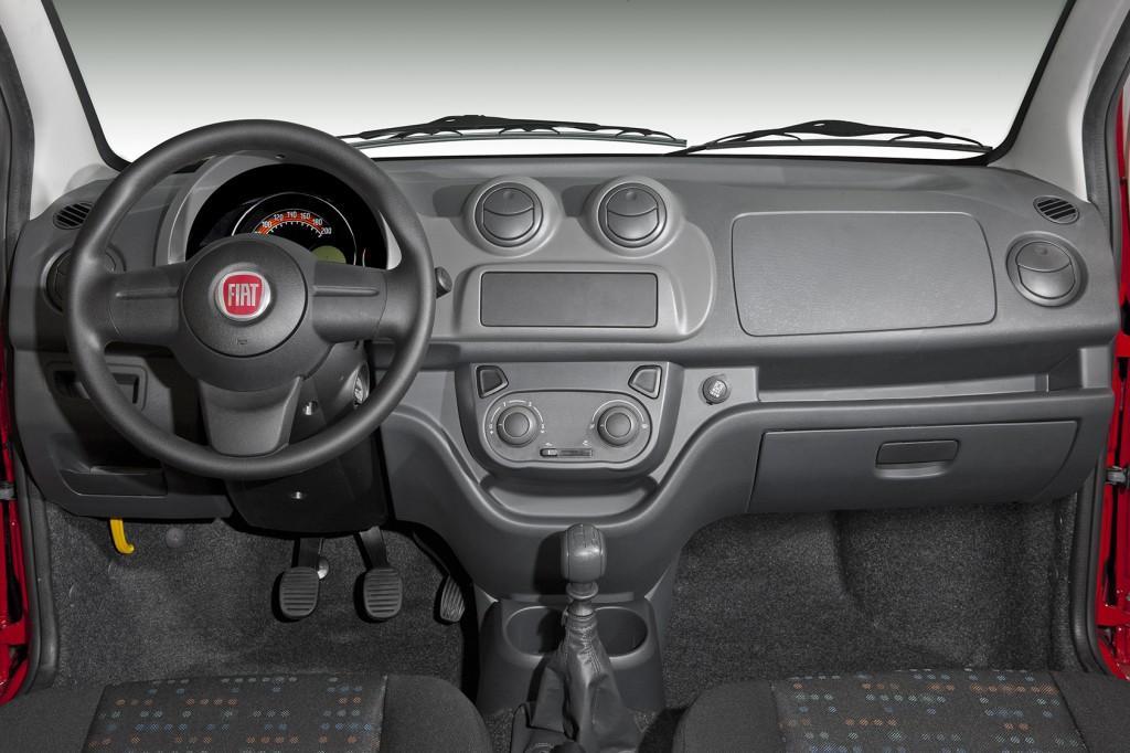 Novo Fiat Uno 2017 - por dentro