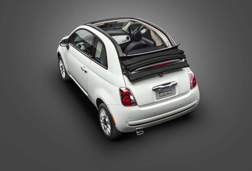 Novo Fiat 500 2017 - Teto solar