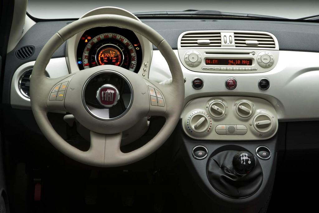 Novo Fiat 500 2017 - Interior