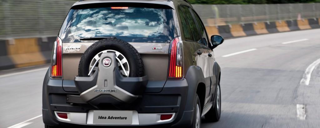 Novo Fiat Idea 2017 - Traseira