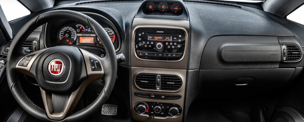 Fiat Idea 2017 - Interior