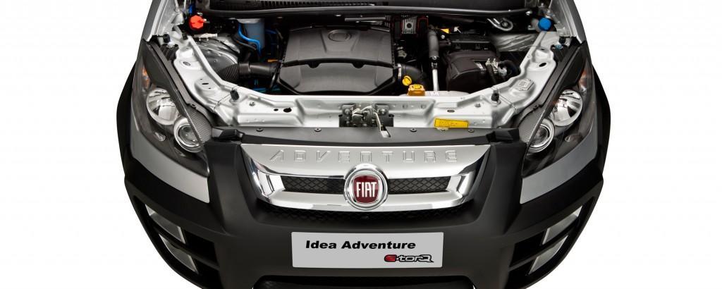 Fiat Idea 2017 - Motor e desempenho