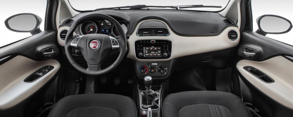 Fiat Linea 2017 - interior