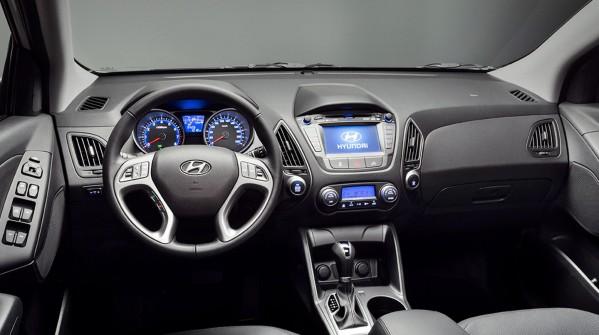 Novo Ix35 2017 - Interior /por dentro