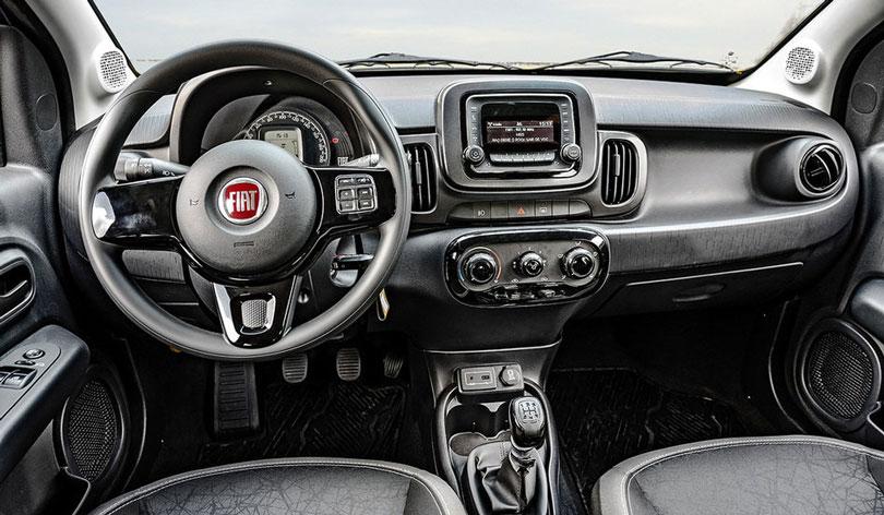 Fiat Mobi 2017 - interior