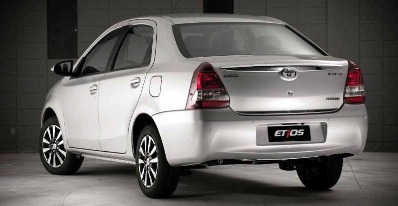 Novo Toyota Etios 2017 - Porta malas