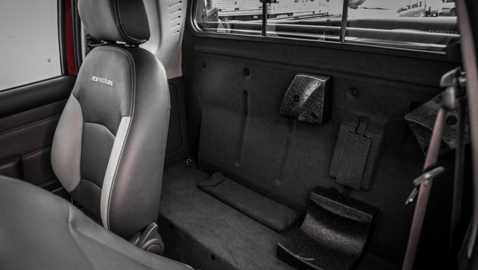 Nova Fiat Strada 2017 - Bancos em couro