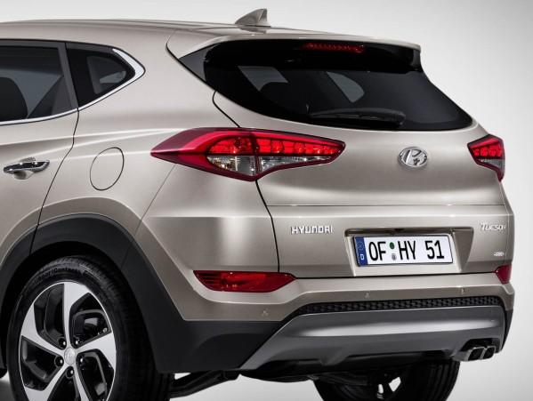Hyundai Tucson 2017 - Traseira