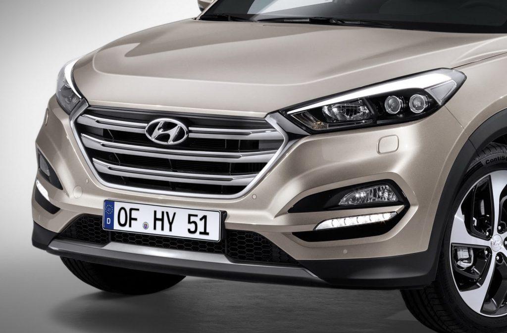 Hyundai Tucson 2017 - Frente