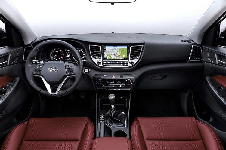 Hyundai Tucson 2017 - Interior