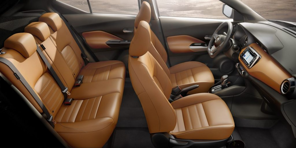 Novo Nissan KICKS - Interior