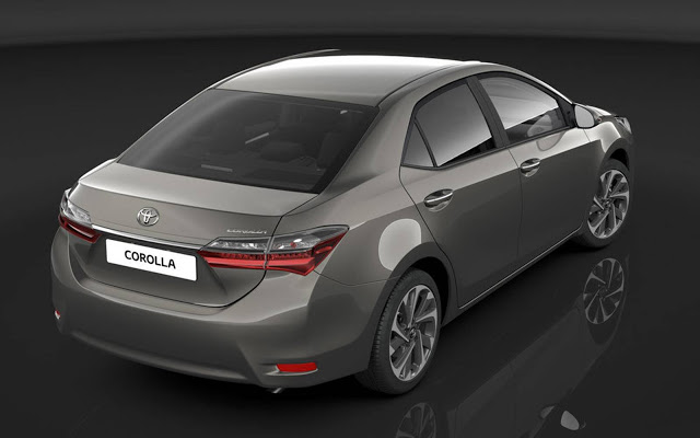 Novo Corolla 2017 - Ficha Técnica