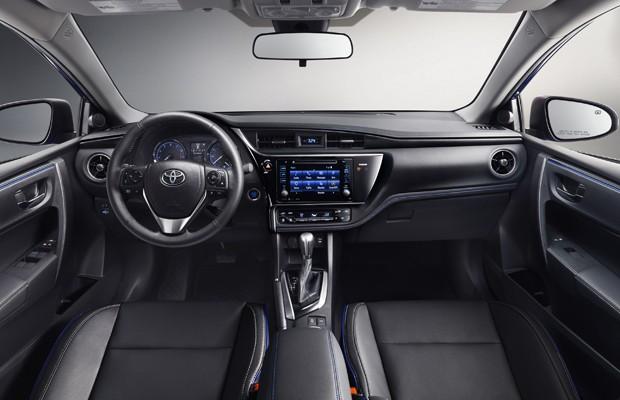 Novo Corolla 2017 - Interior