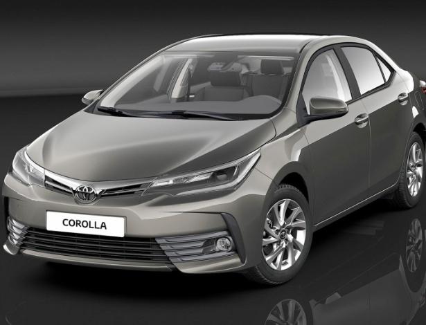 Toyota Corolla 2017 - Versões
