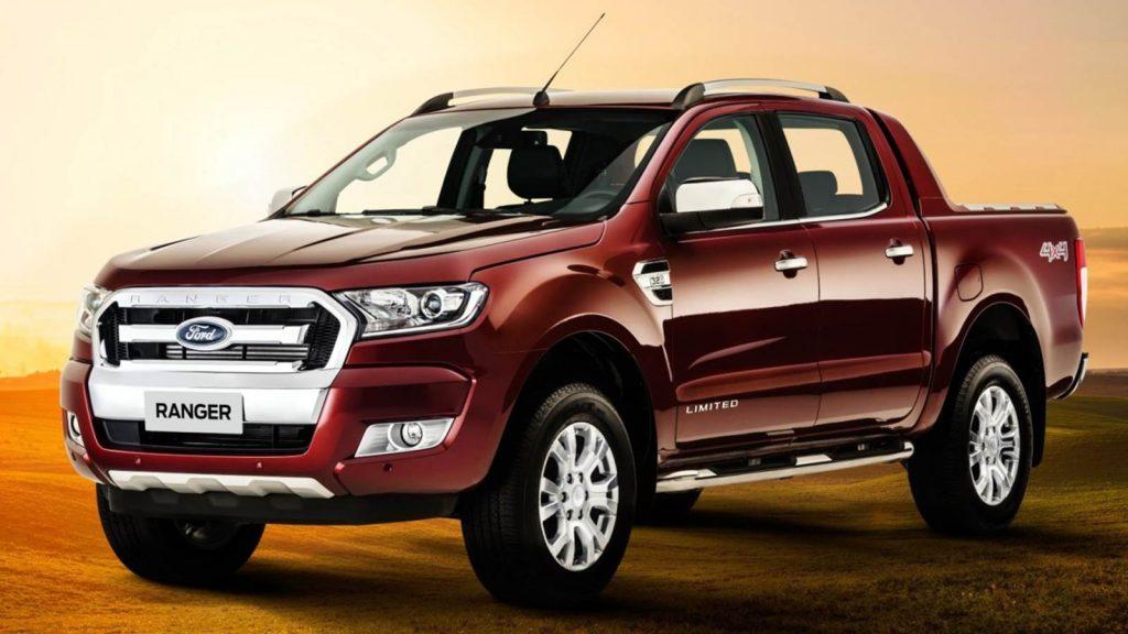 Ford Ranger Limited 2017 especificações